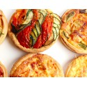 ASSORTIMENT TARTES SALEES